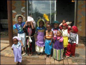 Rokpa creche at the Tara Rokpa Centre