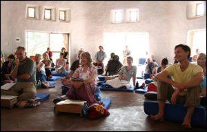 Meditation retreats at the Tara Rokpa Centre, one of the Four Wings of activity